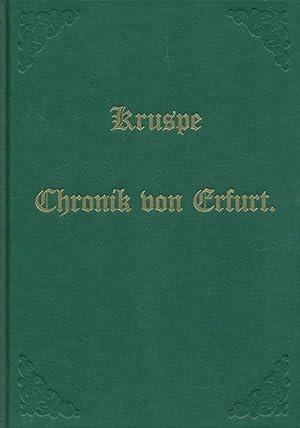 Erfurter Bilderchronik.: Kruspe, Heinrich: