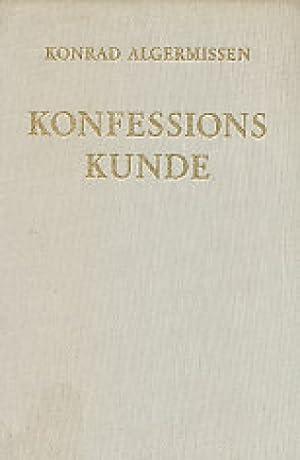 Konfessionskunde.: Algermissen, Konrad: