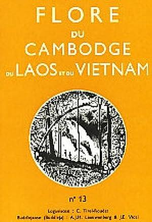Flore du Cambodge, du Laos, et du Vietnam ; Fascicule 13: Loganiaceae (Tirel-Roudet / ...