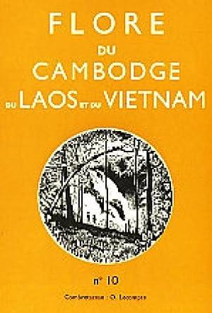 Flore du Cambodge, du Laos, et du Vietnam ; Fascicule 10: Combretaceae.: Lecompte, O.