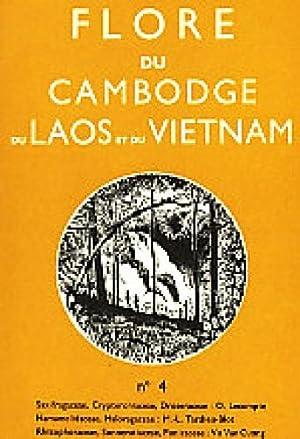Flore du Cambodge, du Laos, et du Vietnam ; Fascicule 4: Saxifragaceae, Crypteroniaceae, ...
