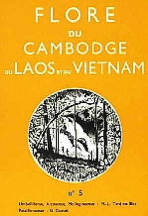 Flore du Cambodge, du Laos, et du Vietnam ; Fascicule 5: Umbelliferae, Aizoaceae, Molluginaceae (...