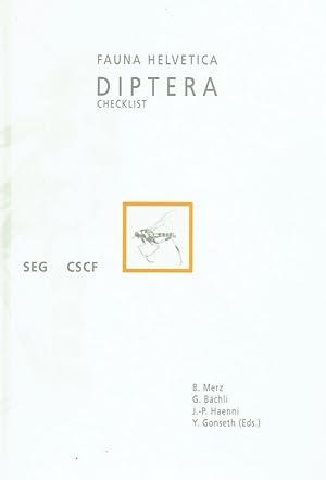 Fauna Helvetica ; 1 Diptera-checklist.: Merz, Bernhard [Hrsg.]: