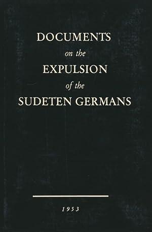 Documents on the expulsion of the Sudeten Germans.: Turnwald, Wilhelm KarlJohannsen, Gerda: