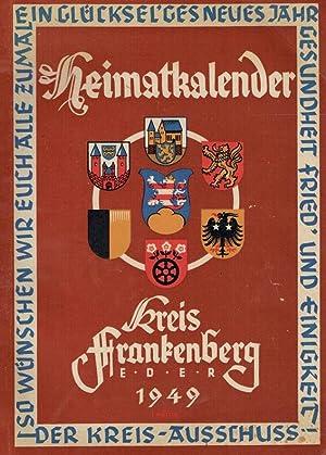 Heimatkalender Kreis Frankenberg Eder 1949.: Diverse:
