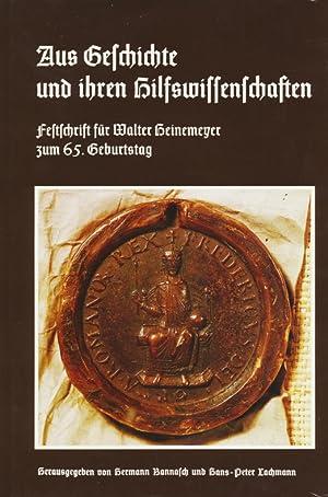 Veröffentlichungen der Historischen Kommission für Hessen ; 40 Aus Geschichte und ihren ...