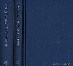 Athenäum-Reprints : Das junge Deutschland Das junge Europa / Heinrich Laube (3 Bände...