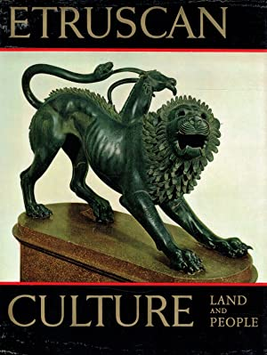 Etruscan culture : land and people ; archeological research and studies conducted in San Giovenale ...