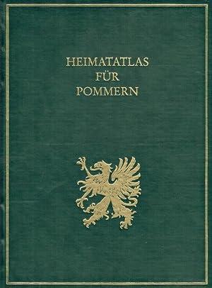 Heimatatlas für Pommern.: Gohrbandt, Emil Curt Hudalbert [Hrsg.]: