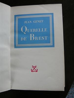 Querelle de Brest.: GENET Jean.