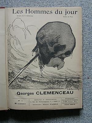 Les Hommes du Jour. Dessins de A. Delannoy.: FLAX (pseud. de Victor MÉRIC).