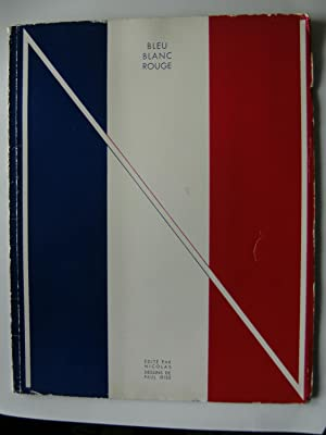 Bleu, Blanc, Rouge. France. Illustrations de Paul Iribe.: IRIBE Paul.