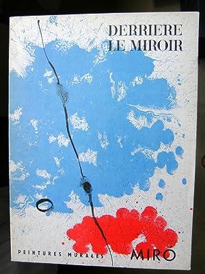 Derrière le Miroir 128. Peintures murales de Miró juin 1961.: SERT L., BROSSA Joan.
