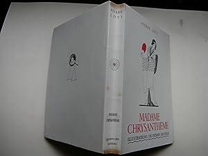 Madame Chrysanthème. Illustré par Sylvain Sauvage.: LOTI Pierre.