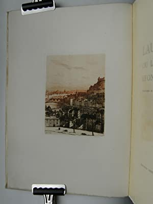 Laurette ou les Amours lyonnaises. Eaux-fortes de Drevert.: DUFOURT Jean.