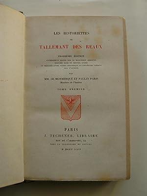 Historiettes. 3ème éd. entièrement revue sur le manuscrit original et pr&...