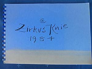 Zirkus Knie 1984.: ZIEGLER Cornelia.