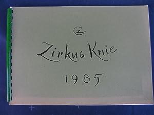 Zirkus Knie 1985.: ZIEGLER Cornelia.