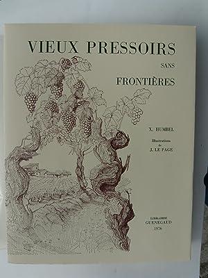 Vieux Pressoirs sans Frontières.: HUMBEL X.