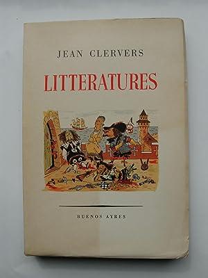 Littératures. Illustrations de N. de Basterrechea.: CLEVERS Jean.