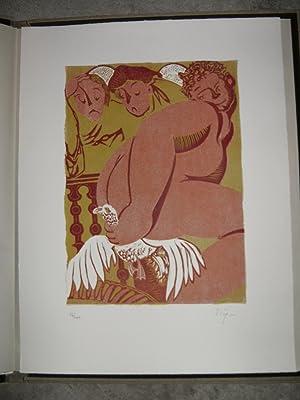 Gargantua. Choix de textes. Illustré par H. Staeger.: RABELAIS François.