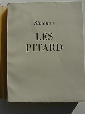 Les Pitard. Illustrations de Robert Joël.: SIMENON.