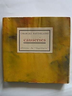 Causerie. Illustrations de Constantin Guys. Préface de F.-F. Gautier.: BAUDELAIRE Charles.
