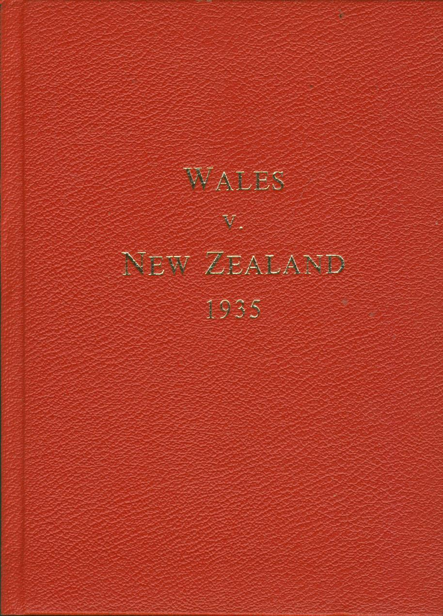 WALES V NEW ZEALAND 1935 Wilfred WOOLLER