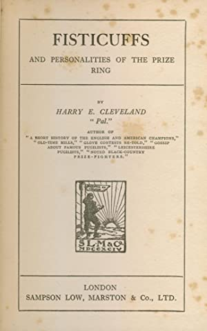 Fisticuffs And Personalities Of The Prize Ring: Harry E. Cleveland