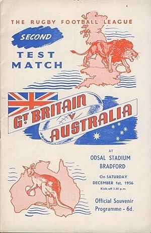 Great Britain V Australia 1956 (2nd Test)