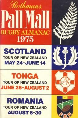 Rothmans Pall Mall Rugby Almanac 1975: Rothmans Rugby Football