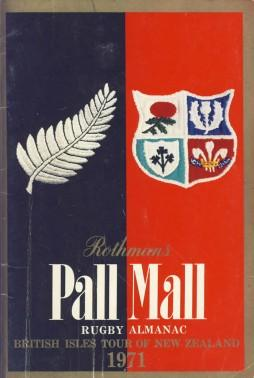 Rothmans Pall Mall Rugby Almanac 1971: Rothmans Rugby Football