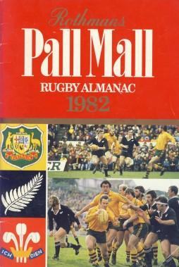 Rothmans Pall Mall Rugby Almanac 1982: Rothmans Rugby Football