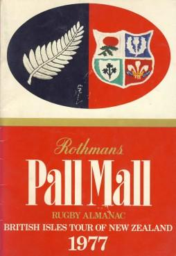 Rothmans Pall Mall Rugby Almanac 1977: Rothmans Rugby Football