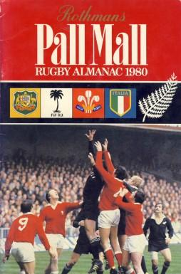 Rothmans Pall Mall Rugby Almanac 1980: Rothmans Rugby Football
