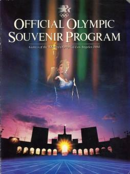 Official Olympic Souvenir Program (los Angeles, 1984): Los Angeles Olympic