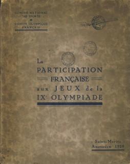 La Participation Francaise Aux Jeux De La: French Olympic Committee