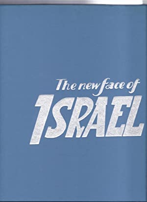 The New Face of Israel. 1960. Cloth with dustjacket. Text in English and Hebrew.: Saul Raskin
