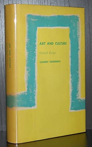 art culture critical essays clement greenberg Clement greenberg (b 1909-d 1994) was the most influential and controversial art critic of his time his writings in defense of contemporary abstract art, first of abstract expressionism and then of post painterly abstraction or color-field painting, were accompanied by a theory of modernism.