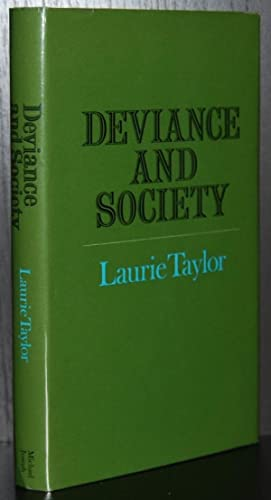 Deviance and Society (Tutor books)