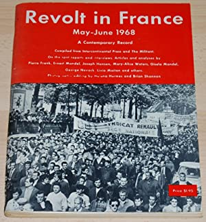 Revolt in France May-June 1968 : A Contemporary Record