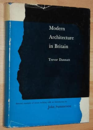 Modern Architecture in Britain : Selected Examples of Recent Building