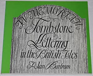 Tombstone Lettering in the British Isles