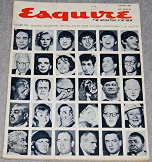 Esquire : The Magazine for Men, January 1965, vol. LXII, no. 1, whole no. 374