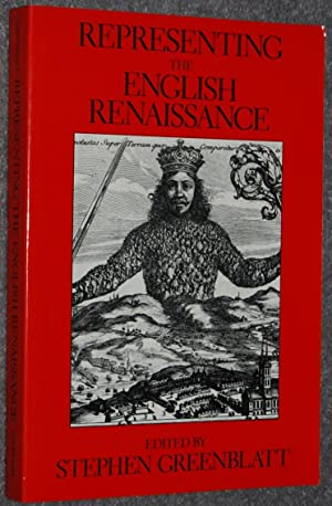 Representing the English Renaissance (A Representations Books)