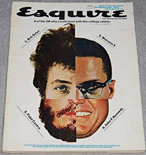 Esquire : The Magazine for Men, September 1965, vol. LXIV, no. 3, whole no. 382