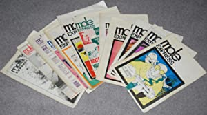 Mole Express 1970 - 1973 [incomplete run of 12 issues]