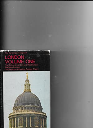 London, Vol. 1: The Cities of London: Pevsner, Nikolaus Revised