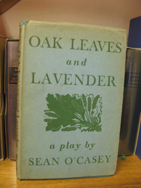 Oak Leaves and Lavender: O'Casey, Sean