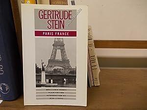 Paris, France: Stein, Gertrude (Straus, Jean)